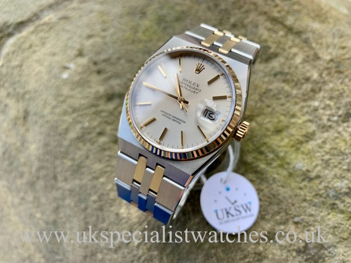 Rolex OysterQuartz Datejust - Steel & 18ct Gold - 17013 - NOS