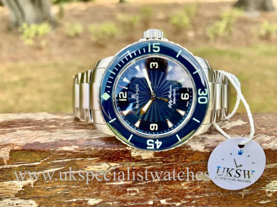 Blancpain Fifty Fathoms – Stainless Steel – Blue Dial – 45mm – 5015D-1140