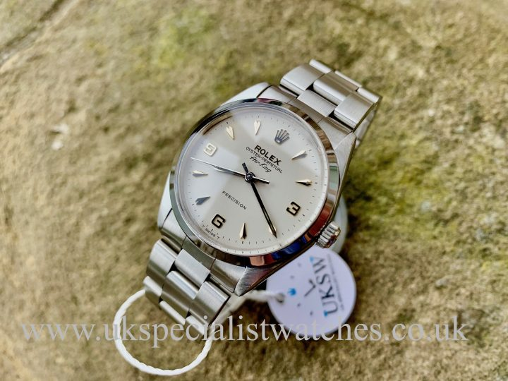 Rolex 5500 Air-King - Stainless Steel - 3 6 9 Dial - Vintage 1966