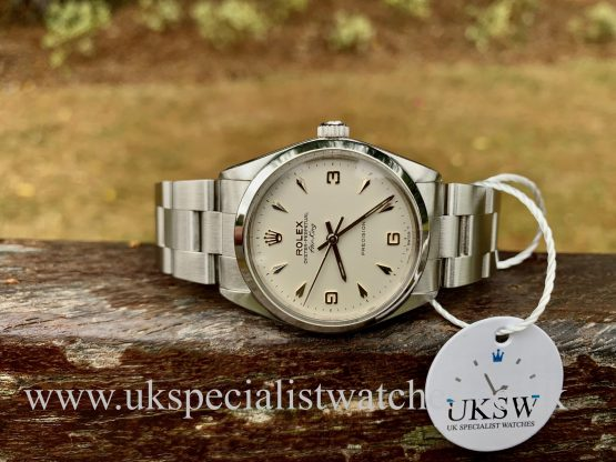 Rolex 5500 Air-King – Stainless Steel – 3 6 9 Dial – Vintage 1966