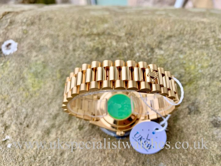Rolex Day-Date 18238 - 18ct Yellow Gold - Vintage 1989 - N.O.S