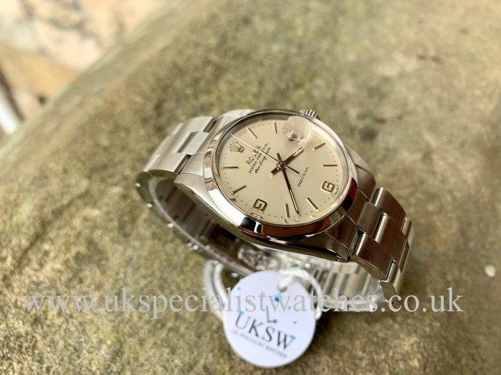 ROLEX 5700 AIR-KING DATE – STEEL – VINTAGE 1966 - FULL SET