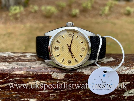 Rolex Oyster Precision Steel – Herringbone Sector Dial – 6426 – Vintage 1959