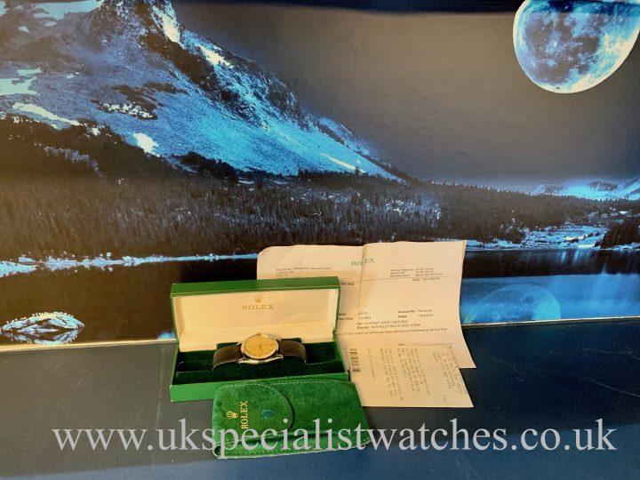 Rolex Oyster Precision Steel - Herringbone Sector Dial - 6426 - Vintage 1959