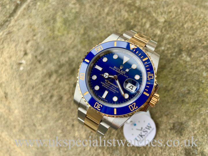 Rolex Submariner - Steel & 18ct Yellow Gold - 116613LB - UNWORN