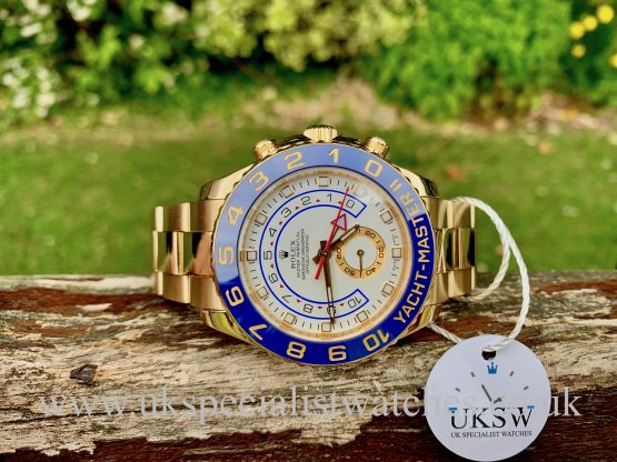 ROLEX YACHT-MASTER II - 18ct YELLOW GOLD - 116688