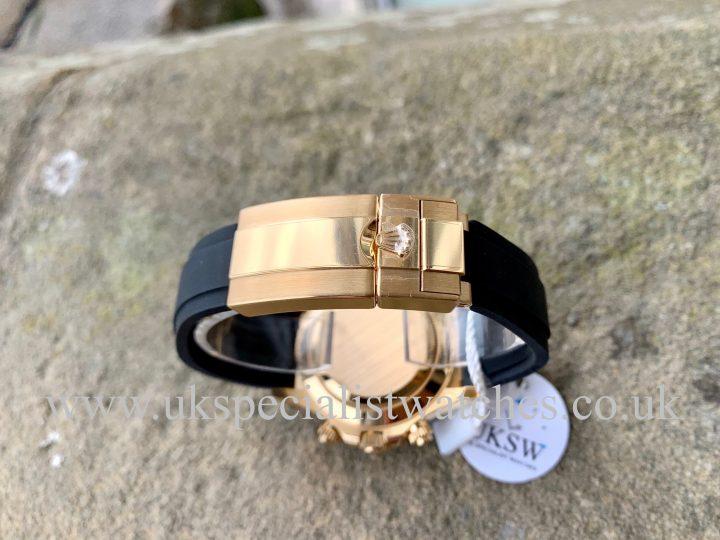 ROLEX DAYTONA OYSTERFLEX 18CT YELLOW GOLD – 116518LN – NEW UNUSED