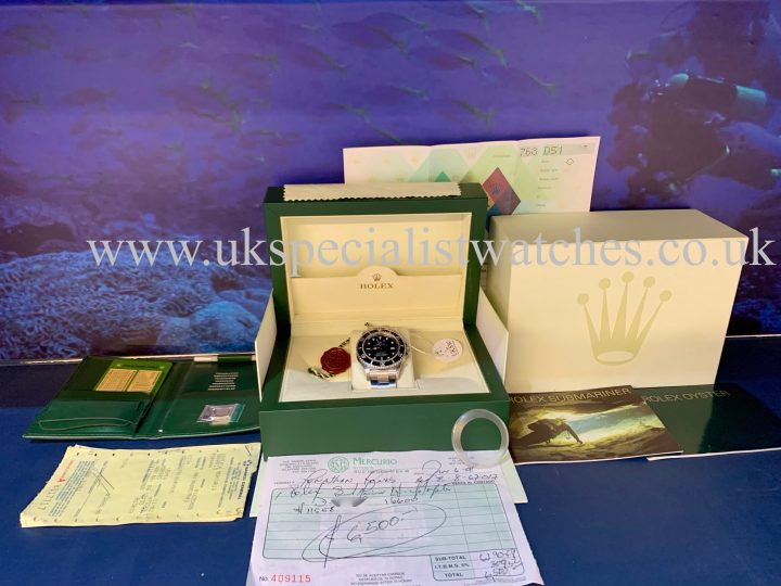 Rolex Sea-Dweller 16600 - Stainless Steel - Full Set 2006