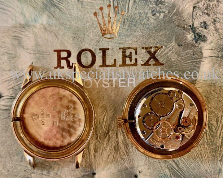 ROLEX PRECISION DRESS WATCH – 9CT GOLD – VINTAGE 1955