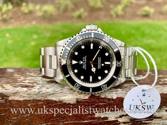 ROLEX SUBMARINER 14060 - NON-DATE - SWISS T25 DIAL
