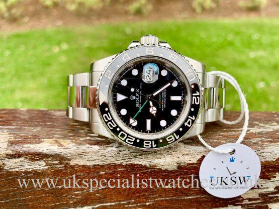 Rolex GMT Master II - Stainless Steel - Ceramic Bezel - 116710LN