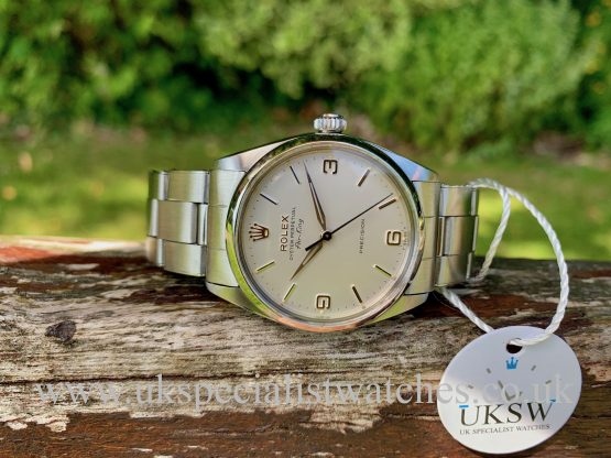 ROLEX 5500 AIR-KING – STAINLESS STEEL – VINTAGE 1967 - FULL SET