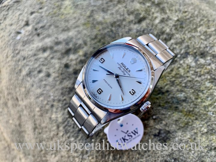 Rolex Air King 5500 3-6-9 Dial - Vintage 1967 - BOX & PAPERS