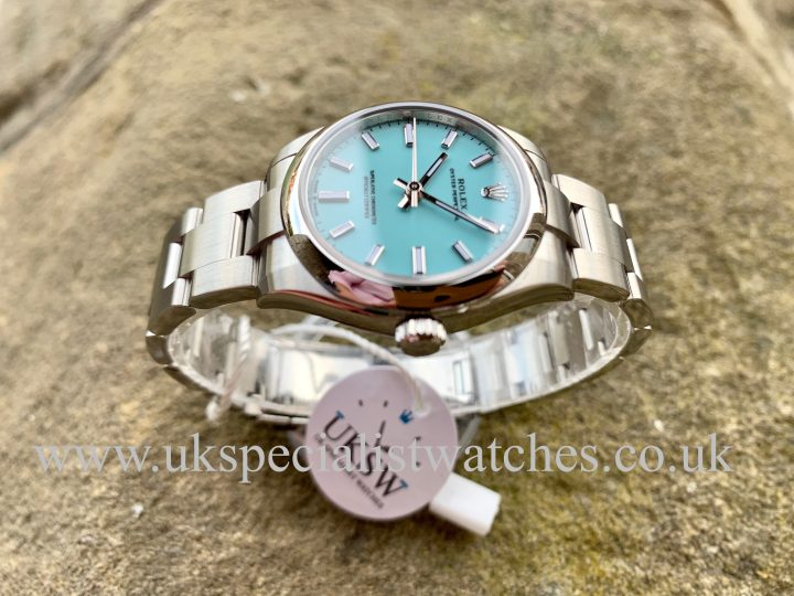 ROLEX TIFFANY BLUE