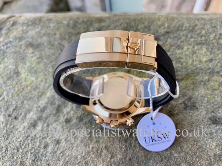 ROLEX DAYTONA OYSTERFLEX 18CT YELLOW GOLD – 116518LN