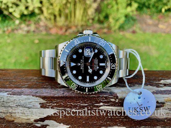 Rolex Sea-Dweller 126600 – Red Writing – 50th Anniversary – MK 1 DIAL