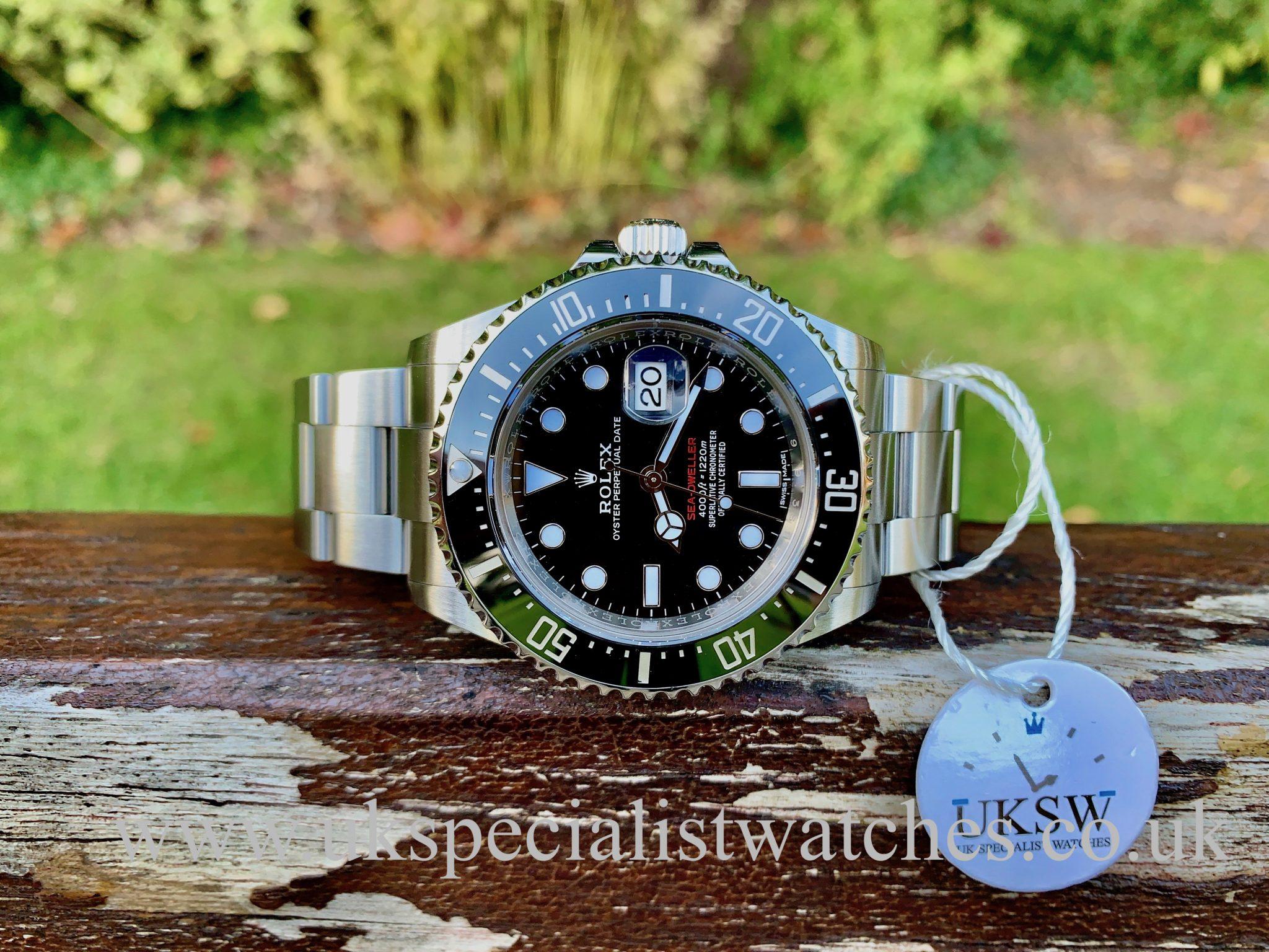 Rolex Sea-Dweller 126600 – Red Writing – 50th Anniversary - MK 1 DIAL