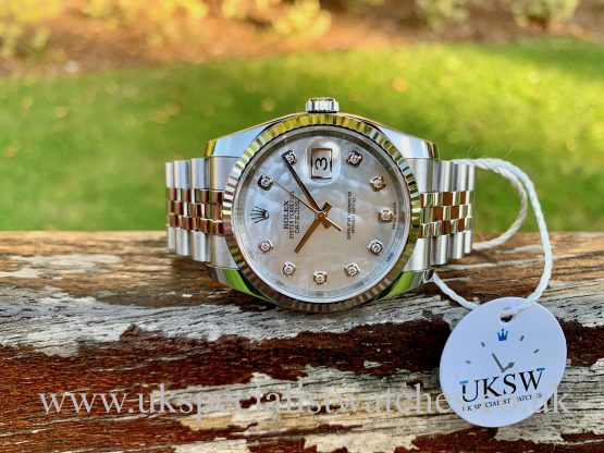 Rolex mother of pearl Datejust