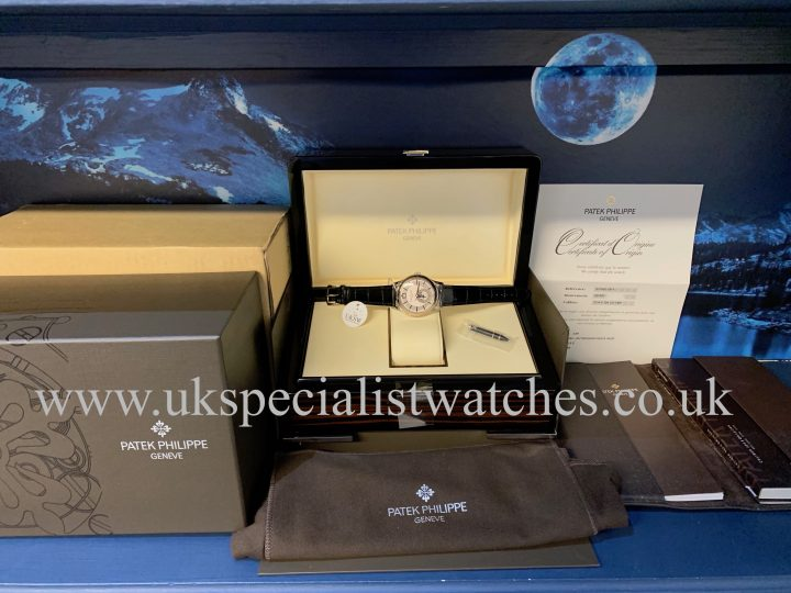 Patek Philippe Annual Calendar Complications - 5205g - 18ct White Gold - NOS