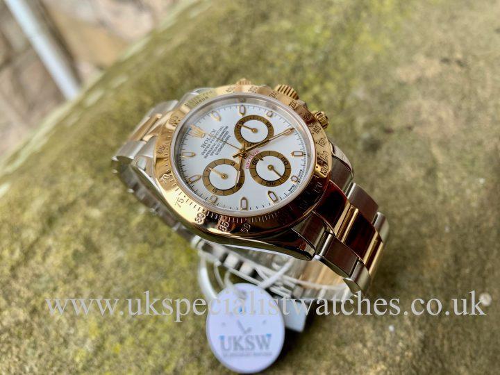 White dial Rolex Daytona