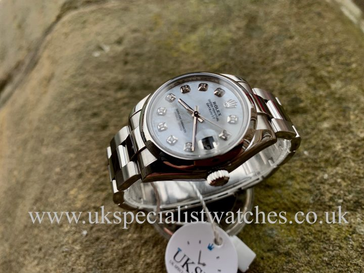 Mother of pearl ladies Rolex