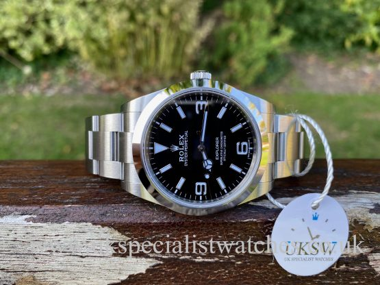 ROLEX EXPLORER – STAINLESS STEEL – 214270 – NEW UNWORN