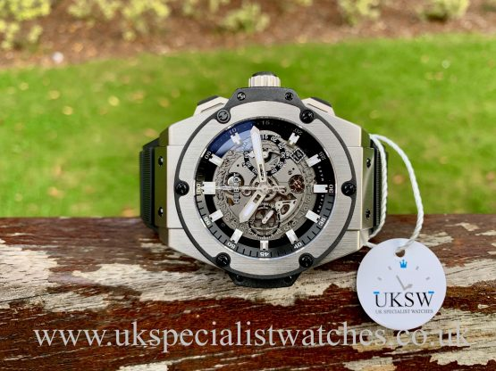 HUBLOT KING POWER UNICO TITANIUM – 701 NX 0170 RX – HUBLOT SERVICED
