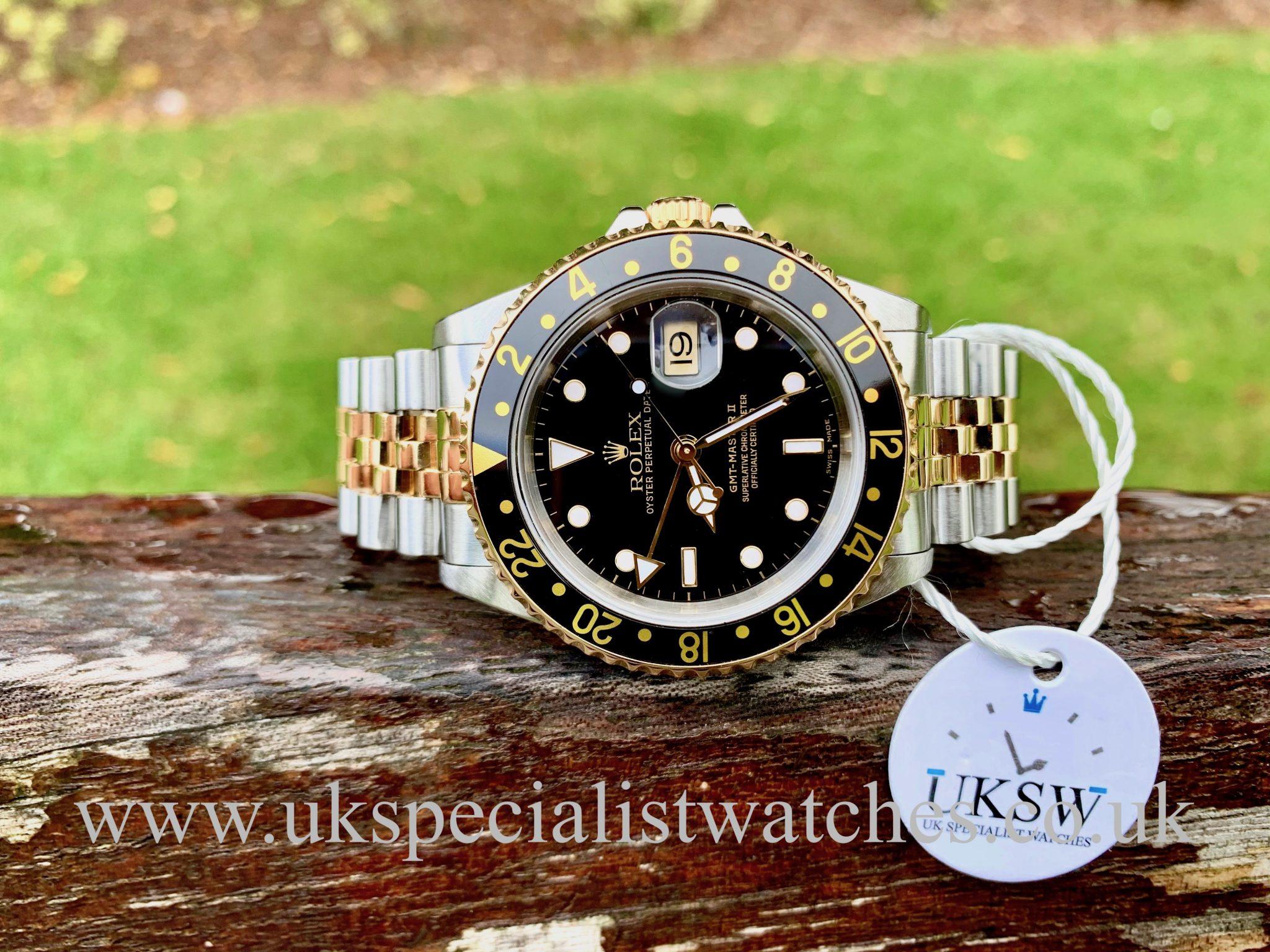 ROLEX GMT-MASTER STEEL & 18ct GOLD – 16713 – ROLEX SERVICE