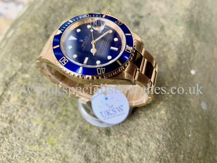 Rolex Submariner 16618 Rehaut