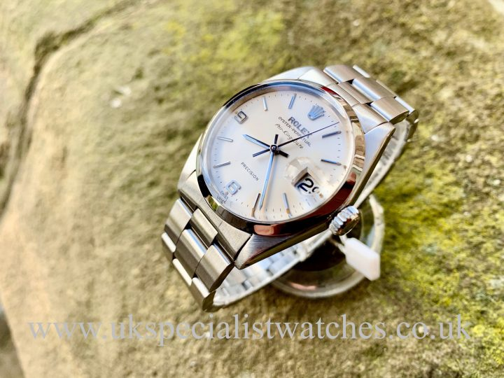 ROLEX 5700 AIR-KING DATE – STEEL – VINTAGE 1963