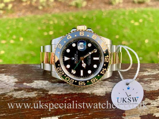 ROLEX GMT-MASTER II – STEEL & 18CT GOLD – 116713LN