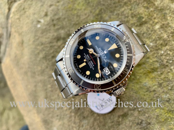 Rolex Submariner Red Writing 1680