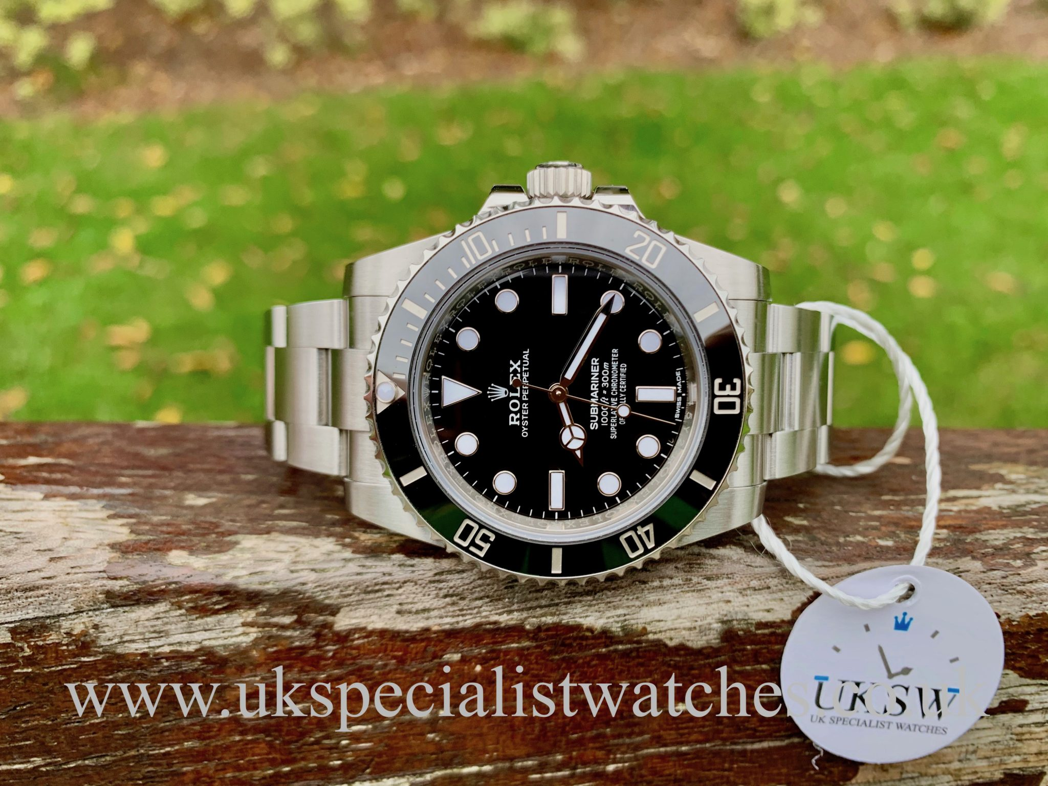 ROLEX SUBMARINER NON-DATE – CERAMIC – 114060 DISCONTINUED