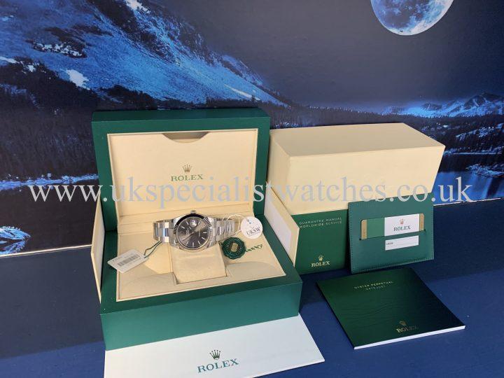 Rolex Datejust Rhodium Dial