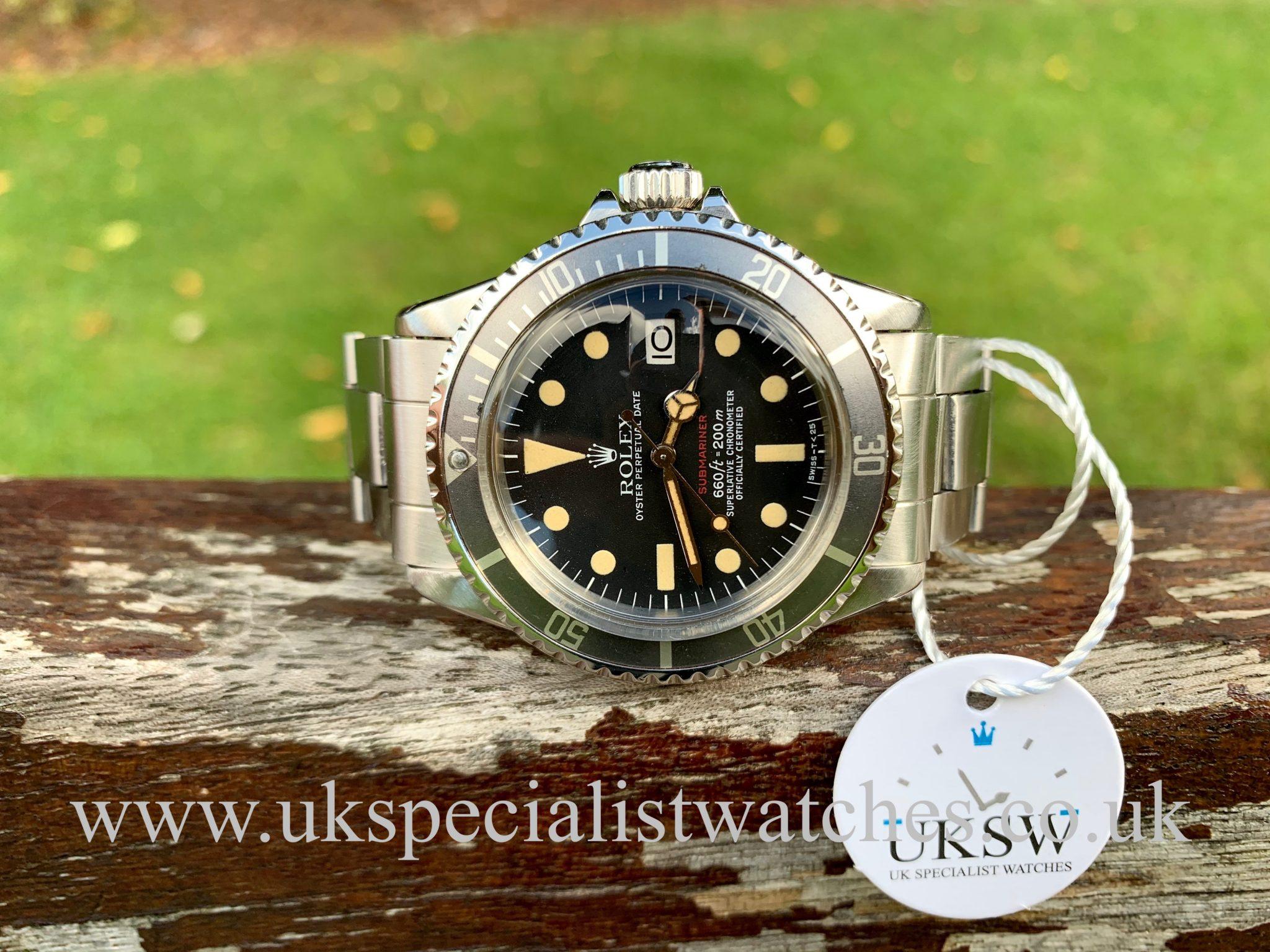 Rolex Submariner 1680 Single Red Writing MK VI - 1974 Vintage