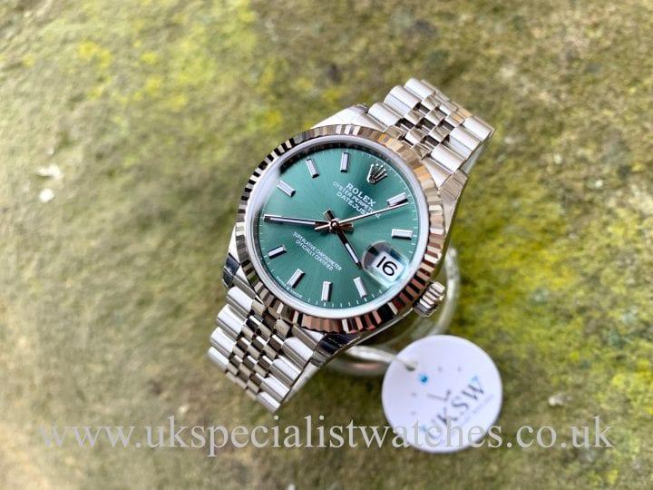 Rolex Datejust 31mm Mid-Size - Green Dial - 278274 - UNWORN