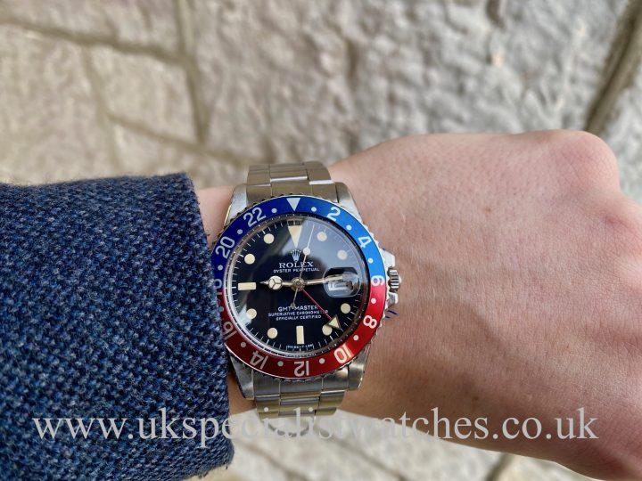 ROLEX GMT-MASTER PEPSI – 1675 – VINTAGE 1977 - MK V DIAL