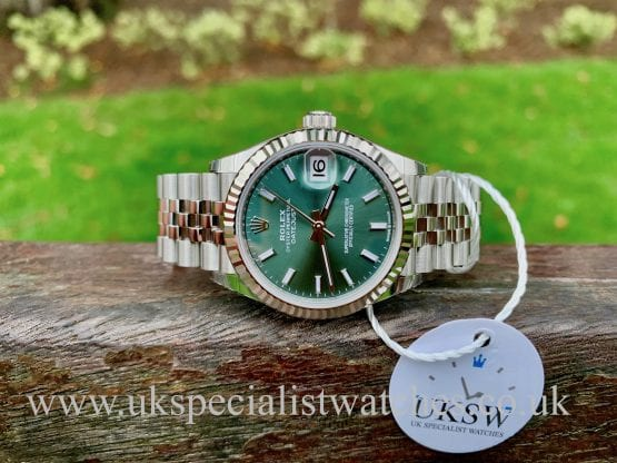 Rolex Datejust 31mm Mid-Size - Green Dial - 278274 - UNWORN