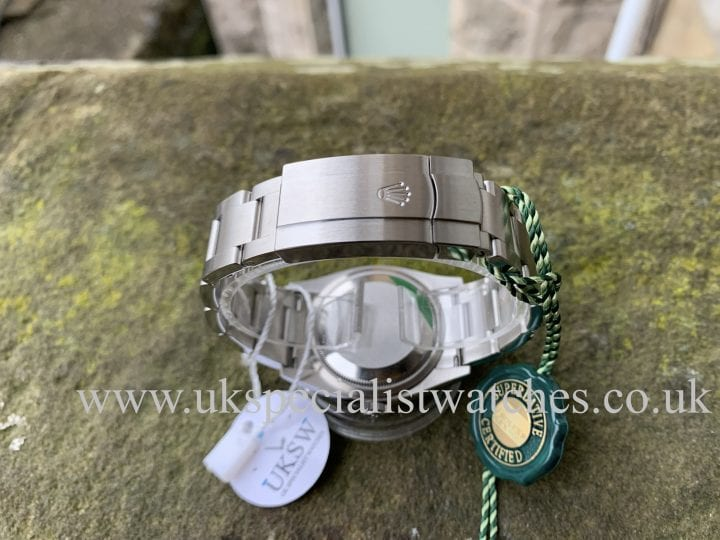 """ROLEX OYSTER PERPETUAL – 36MM """"TIFFANY"""" – NEW 2020 126000"""