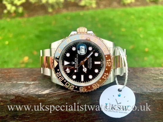 ROLEX GMT-MASTER II – ROOTBEER – 126711CHNR – FULL SET