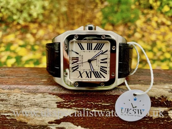 Cartier Santos 100XL - 2656 - Stainless Steel - W20073X8
