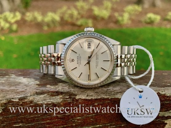 ROLEX DATEJUST 1601 – PIE PAN DIAL – STEEL – VINTAGE 1970
