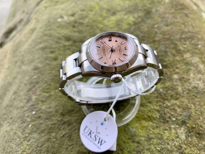 ROLEX OYSTER PERPETUAL 176210 - PINK DIAL