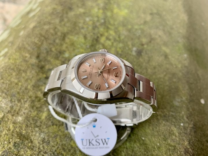 ROLEX OYSTER PERPETUAL 176210 - LADIES PINK DIAL