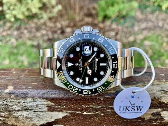 ROLEX GMT-MASTER II GREEN ARROW – STAINLESS STEEL – 116710LN