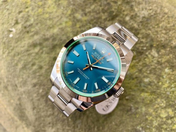 ROLEX MILGAUSS – BLUE DIAL – 116400GV – UNWORN - 2021