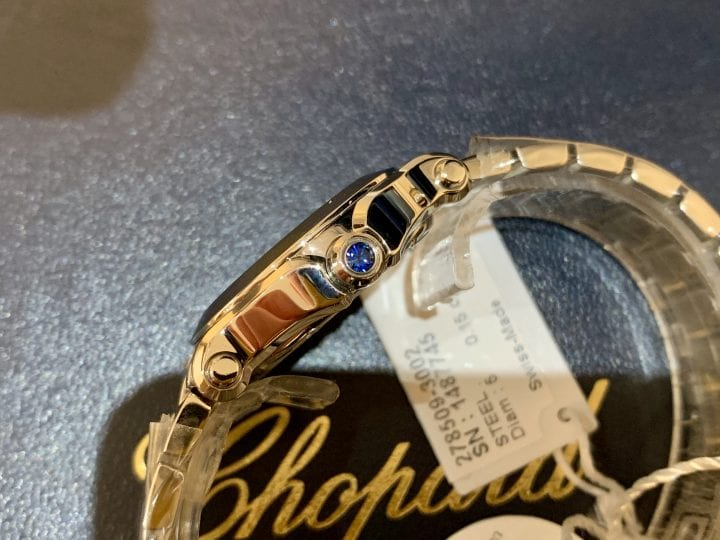 CHOPARD HAPPY SPORT DIAMONDS - 278509-3002 - NEW UNUSED