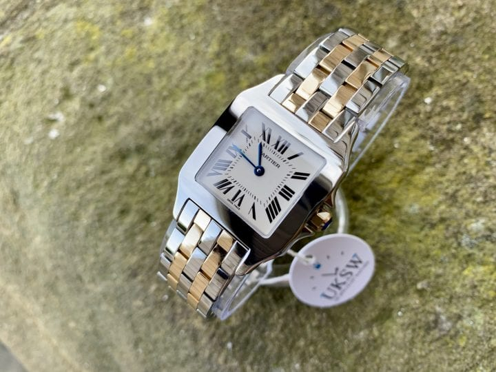 CARTIER SANTOS GENTS DEMOISELLE -2701 – STEEL & 18CT GOLD