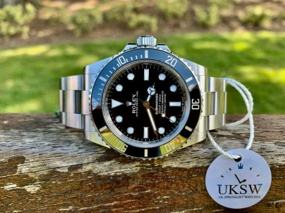 ROLEX SUBMARINER NON DATE – 124060 – NEW MODEL 41MM – NEW 2021