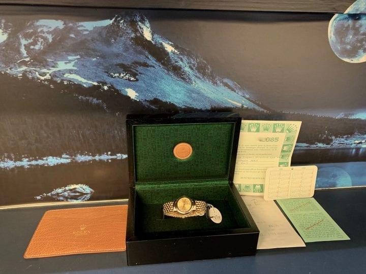 ROLEX CELLINI LADIES - 18 CT GOLD - DIAMOND DIAL - 6621